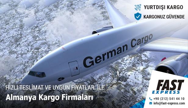 Almanya Yurtdışı Kargo Firmaları