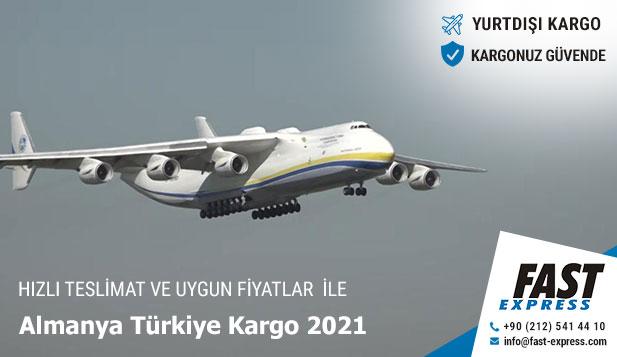 Almanya Türkiye Kargo 2021