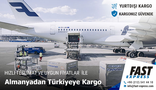 Cargo from Germany to Turkey