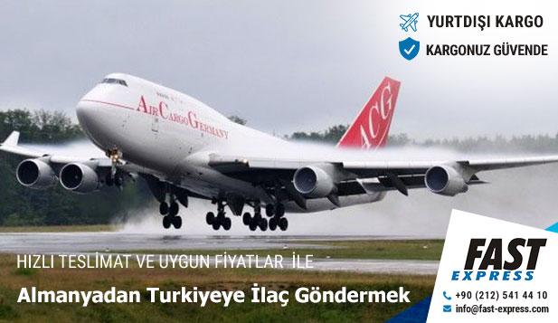 Almanyadan Turkiyeye İlaç Göndermek