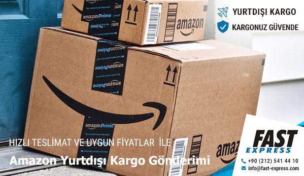 Amazon Yurtdışı Kargo Gönderimi