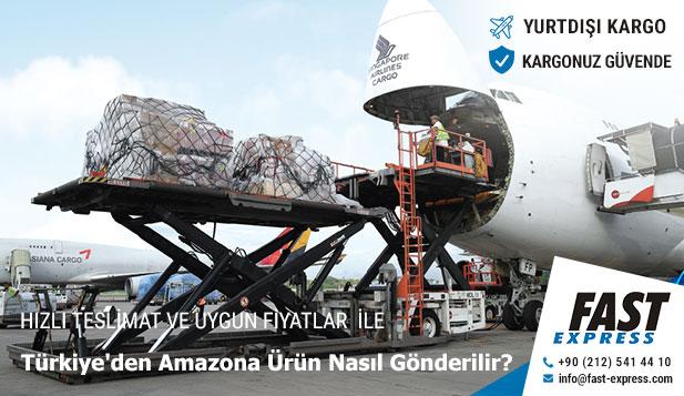 Türkiye'den Amazona Ürün Nasıl Gönderilir