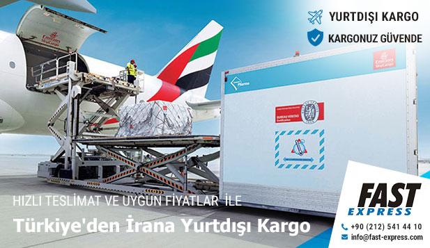 Türkiye'den İrana Yurtdışı Kargo