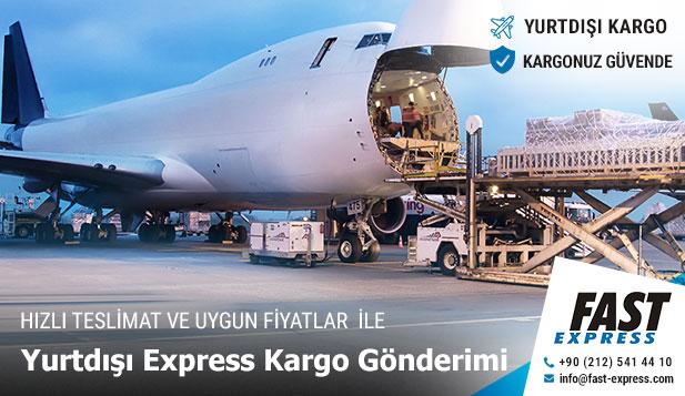 Envío de carga exprés en el extranjero