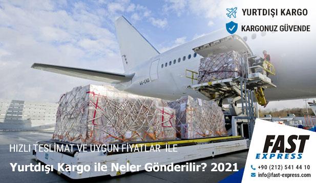 Yurtdışı Kargo İle Neler Gönderilir 2021