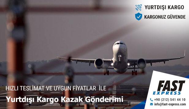 Yurtdışı Kargo Kazak Gönderimi