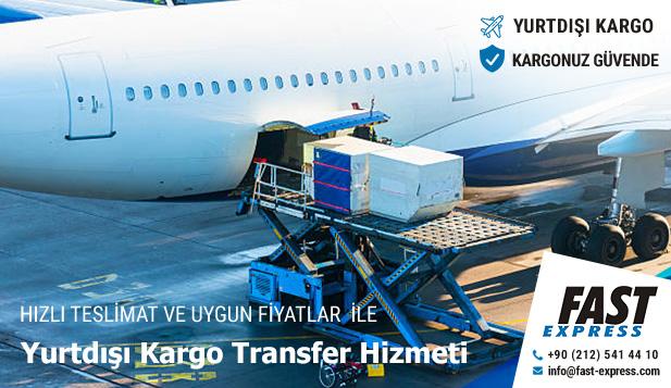 Yurtdışı Kargo Transfer Hizmeti