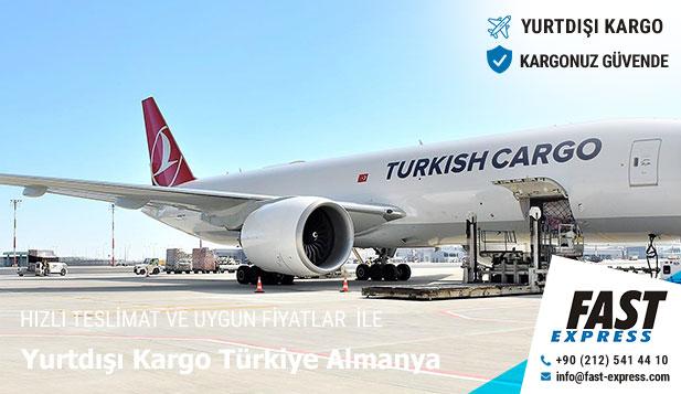 Yurtdışı Kargo Türkiye Almanya