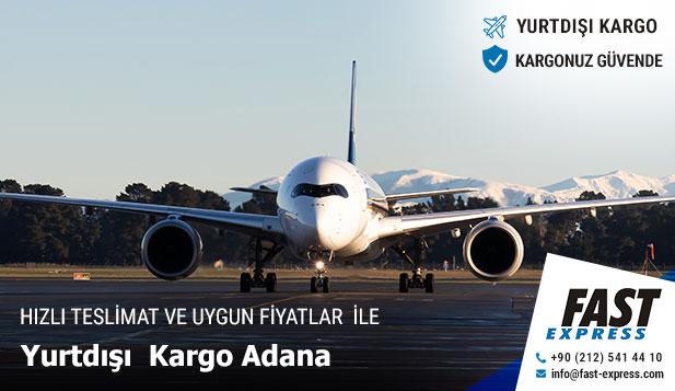 Adana Yurtdışı Kargo